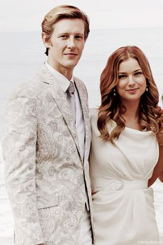 infinity8tattoo:  14/100 photos of Emily VanCamp and Gabriel Mann