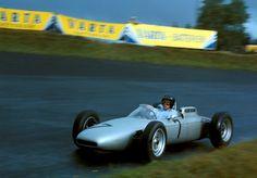 1962 GP Niemiec (Nurburgring) Porsche 804 (Dan Gurney)