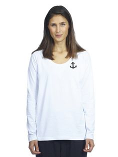 Makia Anchor Long Sleeve Anchor, Fall Winter, Sweatshirts, Long Sleeve, Sleeves, Sweaters, Women, Fashion, Moda