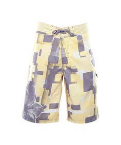 78b1c6783a Men's Sunrise Beach Boardshort (Separate) - Yellow - C512CGPE0XL,Men's  Clothing, Swim