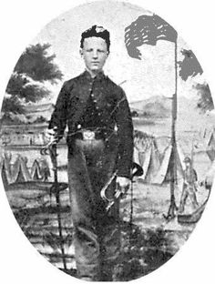 John Cook was a bugler in the US Artillery Regiment. At Antietam, he took control of a cannon by himself and fired upon Confederate troops just 15 feet away. In he was awarded the Congressional Medal of Honor for his actions at Antietam. American Civil War, American History, John Cook, Battle Of Antietam, War Image, People Of Interest, Civil War Photos, September 17, Us History