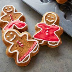 Recipes | Gingerbread Press Sugar Cookies | Sur La Table