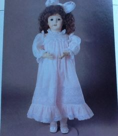 """Poissot+doll+clothes+pattern+DPP236.+Martha+Pullen+Heirloom+party+doll+dress.+Dress+and+slip+for+19""""-20""""+dolls+and+23""""-24""""+dolls.+Uncut.+by+Stitchandzip+on+Etsy"""