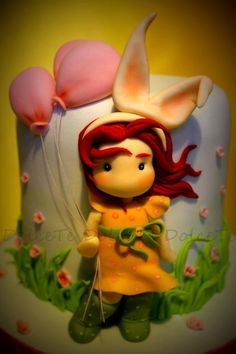 """""""Easter is in the air """" - Cake by Teresa Pugliese Carchedi"""