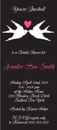 6 of the Cutest Bridal Shower Invitations You Haven't Seen - Wedding Planning Ideas by WeddingFanatic