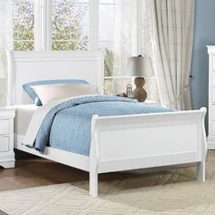 mayville 2147tw1 twin sleigh bed beds twin sku - Twin Sleigh Bed