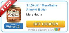 $1.00 off 1 MaraNatha Almond Butter #coupon