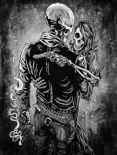 Bonnie & Clyde  Mr.&Mrs.Saylor