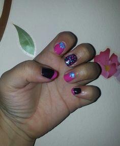Neon & purple. #sephoraformulaxatomic #formulaxexplosives #illamasquacollide Neon Purple, Nail Polish, Nails, Beauty, Finger Nails, Ongles, Nail, Beauty Illustration, Finger Nail Painting