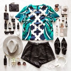 I want pretty: LOOK-5 outfits cool para verano! / 5 cool outfits for summer!