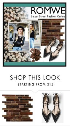 """""""Romwe"""" by decisivedreamer ❤ liked on Polyvore featuring Artista and Zara"""