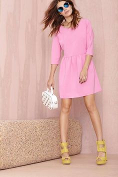 Is bubble gum pink a fall color? Totally.
