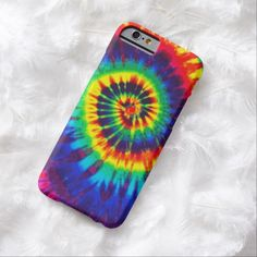 Cute iPhone 6 Case! This Colorful Tie-Dye iPhone 6 case iPhone 6 Case can be personalized or purchased as is to protect your iPhone 6 in Style!