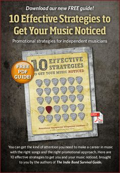 10 Effective Strategies to Get Your Music Noticed. Free PDF from Disc Makers