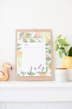 10 Free Printable Calendars for 2015 | Apartment Therapy
