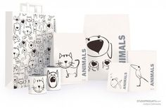 Packaging for pet food by Justyna Czonowska : ) PD