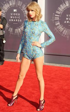 MTV VMAs: Hottest Red Carpet Looks of All Time : Taylor Swift