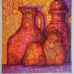 W blasku Shine.Rysynek z napiechote.pl #sztuka #obraz #art #fineart #rysunek #drawing #painting #martwanatura #illustrator #malarstwo #polskiemalarstwo #ilustracje #red #czerwony #purple #fioletowy #grafika #decoration #dekoracja #owoce #fruit #apple #yellow #artysta #inspiracje #zentangle #shine #blask #design #kitchen