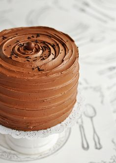Campfire Delight: 6-Layer Rich Chocolate Malted & Toasted- Marshmallow Cake