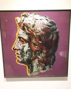 Alexandros by #AndyWarhol from Iola's collection #popart #contemporaryart #skg #AlexanderTheGreat - #Greek kingdom of #Macedonia