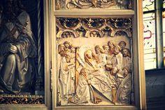 Der Altar von St. Marien - Relief und Details #kirche #church #freyburg
