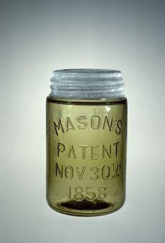 Antique Bottles, Bottles And Jars, Antique Glass, Glass Bottles, Ball Canning Jars, Ball Mason Jars, Mason Jar Crafts, Mason Jar Diy, Corning Museum Of Glass