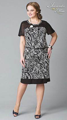 Платья больших размеров белорусского бренда Inkanto Mio. Весна-лето 2013 Wish Dresses, Casual Dresses, Fashion Dresses, Formal Dresses, Short Sleeve Dresses, Plus Size, Sewing, My Style, Womens Fashion