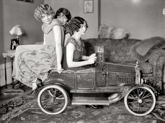 Flappers with a mini auto