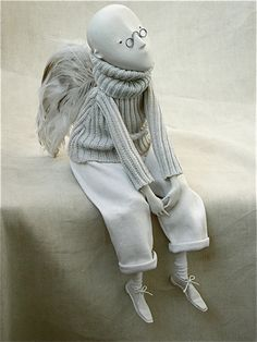 Sculpture, Clay in People, Character, Doll, figure, Porcelain, Porcelain art doll - Image #160813