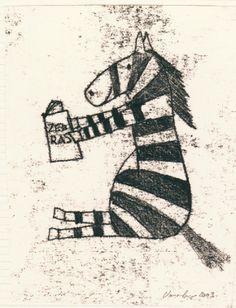 Zebra reading Reading, Illustration, Painting, Character, Art, Art Background, Illustrations, Painting Art, Kunst