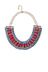 Cairo Beaded Statement Necklace