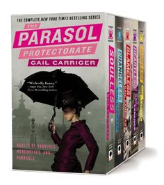 €28,95 The Parasol Protectorate Boxed Set: Soulless, Changeless, Blameless, Heartless and Timeless von Gail Carriger http://www.amazon.de/dp/0316212261/ref=cm_sw_r_pi_dp_4mkFub1YFGRRP