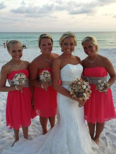 Bridesmaid Dresses for Beach Wedding | Beach Wedding Dresses ...