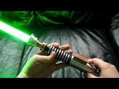 www.slothfurnace.com presents: Return of the Jedi Luke Lightsaber With Blade Attached - YouTube