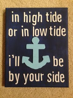 Anchor Canvas by CEKdesign on Etsy, $15.00