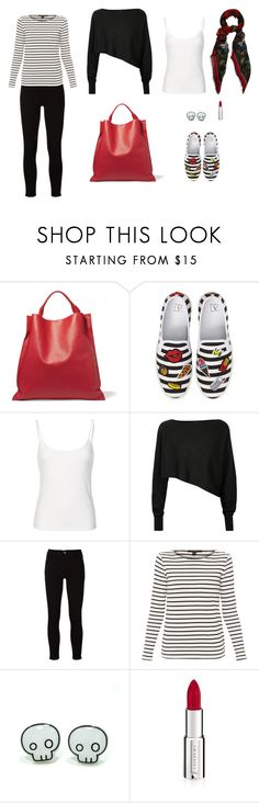 """""""BWR"""" by leina-elansary on Polyvore featuring Jil Sander, BP., Crea Concept, Frame, Weekend Max Mara, Givenchy and Alexander McQueen"""