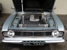 1969 Mk2 Cortina with 3.0 litre diesel engine.... #WOW