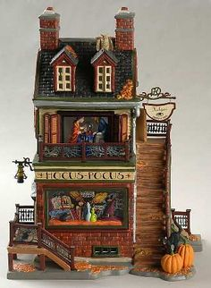 Image detail for -DEPARTMENT 56 SNOW VILLAGE HALLOWEEN at Replacements, Ltd