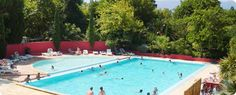 Kleine camping Frankrijk Le Haras in Palau del Vidre in het zuiden van Frankrijk - Languedoc - Roussillon - stond in KCK - aangepast sanitair.