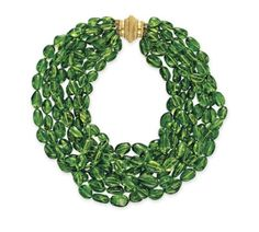 Fashion*Jewellery*Modern  | Rosamaria G Frangini || A PERIDOT BEAD NECKLACE, BY VERDURA