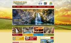 Redwood Area Chamber & Tourism new website design!  www.redwoodfalls.org #responsivedesign