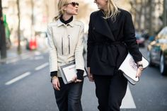 On the Streets of Paris Fashion Week Fall 2014 - PFW Street Style Day 4