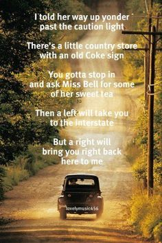 good directions :) ..... one of my all time favorite songs !!!!! ♥♥♥