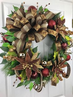 christmas wreath christmas door decor christmas poinsettia christmas bow christmas decorations christmas deco christmas decor xmas