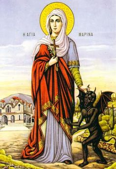 MYSTAGOGY: Saint Marina the Great Martyr and Vanquisher of Demons