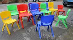 24 CM höhe Umweltfreundliche PP Kindergarten kinder stühle Sicherheit Verdicken kleine sessel