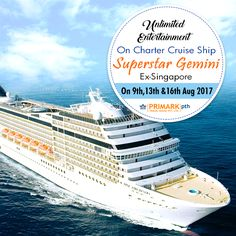 UNLIMITED ENTERTAINMENT On Charter Cruise Ship Superstar Gemini Ex - Cruise ship building games
