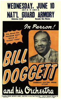 Bill Doggett, Hammond Electric Organ Stylist