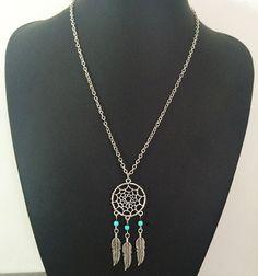 Dream Catcher Pendant Necklace