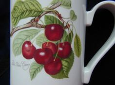 Pomona Portmeirion Mug, the Duke Cherry